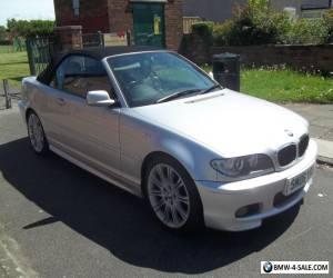 2006 06 BMW 318 CI M SPORT 2.0 PETROL CONVERTIBLE 104K FSH MOT  for Sale