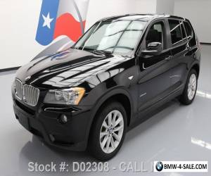 2013 BMW X3 XDRIVE28I AWD PANO SUNROOF 18