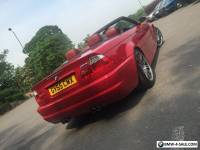 BMW m3 Smg convertible 2005 104k fsh imola red high spec May px