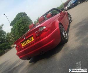 BMW m3 Smg convertible 2005 104k fsh imola red high spec May px  for Sale