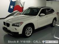 2014 BMW X1 XDRIVE28I AWD TURBO PANO ROOF HTD SEATS