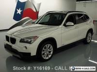 2014 BMW X1 XDRIVE28I AWD TURBO PANO ROOF HTD SEATS