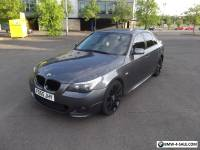 BMW 525D Titanium Grey