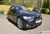 BMW E92 330d M Sport Coupe Auto Black Top Spec *Just serviced*  66,000k Miles for Sale