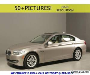 2013 BMW 5-Series 2013 535i NAV SUNROOF LEATHER SPORT REARCAM PREM for Sale