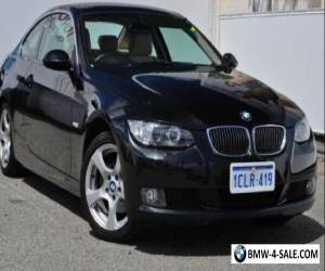 2007 BMW 323i E90 Steptronic Black 6 Speed Sports Automatic Coupe for Sale