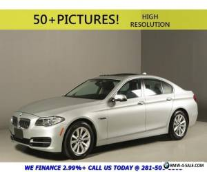 2014 BMW 5-Series 2014 528i SPORT NAV SUNROOF LEATHER WOOD XENONS for Sale