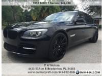 2012 BMW 7-Series LI