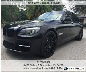 2012 BMW 7-Series LI for Sale