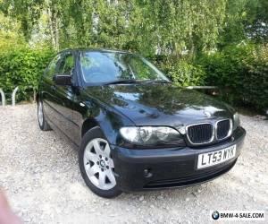2003 (53) BMW 318i SE MANUAL IN BLACK  for Sale