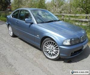 Y2001 BMW 325CI AUTO COUPE, 18 INCH M ALLOYS, MOT NOV 2016, 106K, DRIVES GREAT. for Sale