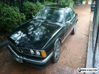 1977 BMW e24 633csi project.   635csi m6 e30 m30 635 633