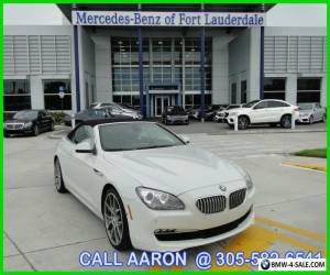 2012 BMW 6-Series CALL AARON 305-582-6541 for Sale