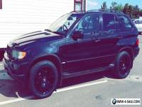 BMW X5 3.0D Sport, BLACK 2003, NICE LOOKING, PVT PLATE INCLUDED