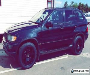 BMW X5 3.0D Sport, BLACK 2003, NICE LOOKING, PVT PLATE INCLUDED for Sale