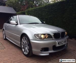 BMW 325 CI SPORT CONVERTIBLE  AUTO FULL SERVICE HISTORY FULL LEATHER LOW MILEAGE for Sale