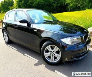 BMW 118D 2.0 Diesel SE 5 Door Black Xenon Angel Eyes #IMMACULATE# for Sale