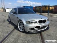 2002 BMW M3 E46 M3 SLICK TOP 6 SPEED MANUAL DINAN RARE