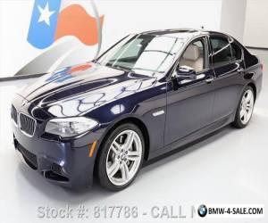2013 BMW 5-Series 535I M SPORT SUNROOF NAV DUAL DVD REAR CAM for Sale
