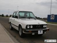 1987 BMW 5-Series 535i