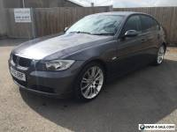 "BMW 320d 55reg 123k full history black leather 18"" alloys"