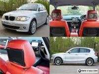 "BMW 120d 2005, 200BHP, Heated Red leather, Sat Nav, 18""s, RearCam, DVD, Swap/ px"