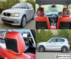 """BMW 120d 2005, 200BHP, Heated Red leather, Sat Nav, 18""""s, RearCam, DVD, Swap/ px for Sale"""