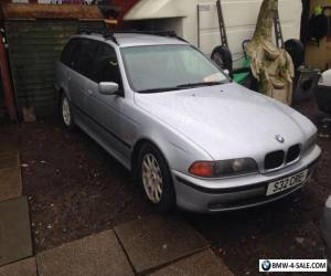 Bmw 525TDS diesel touring  12 months Mot Auto Diesel alloy full leather  for Sale