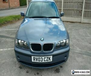 BMW 316SE 2003 1.8L Blue 1769cc for Sale