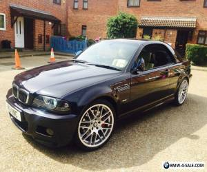 BMW M3 CONVERTIBLE  BLACK - SMG - HARDTOP - CSL ALLOYS - HPI CLEAR - FSH - M5 M6 for Sale