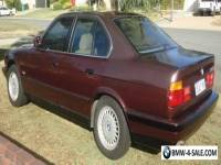 BMW 525i - 1989 5 Series E34 4 Door luxury sedan