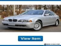 2002 BMW 5-Series i