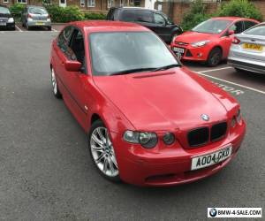 BMW COMPACT 3 SERIES E46 SPARES OR REPAIR M-SPORT for Sale