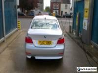 2007 BMW 525I SE AUTO SILVER