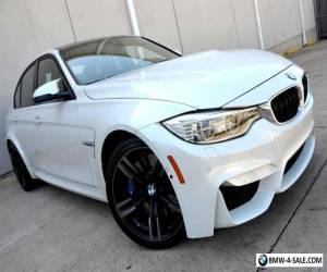 2015 BMW M3 Heavy Loaded M3 MSRP $78k LOW MILES PRISTINE Exec for Sale
