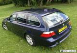 57 REG BMW 520d ESTATE DIESEL AUTOMATIC NOV 2016 MOT HPI CLEAR 180K WITH FSH VGC for Sale