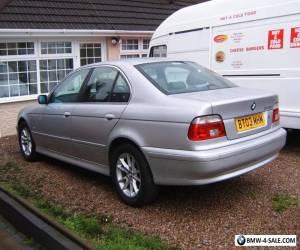 BMW 525D SE MOT 12 MONTH HPI CLEAR BLACK LEATHER FULL HISTORY 12 STAMP ONE OWNER for Sale