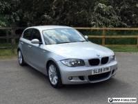 2009 BMW 116I M SPORT SILVER MSPORT LOW MILEAGE 1 SERIES E81 E87