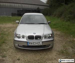"""53 BMW 325, Long M.O.T, 18"""" Alloys, Black Leather, Low Miles, E46, PX Poss for Sale"""