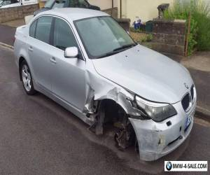 BMW e60 525d SE 2.5 Diesel Automatic 2004 Spares Or Repair for Sale