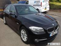 bmw 520d se diesel auto saloon black 2011 leather