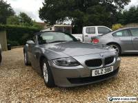 BMW Z4 Grey Manual Convertible 2.5i SE 2006 Facelift model 75000 miles