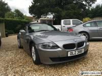 BMW Z4 Grey Manual Convertible 2.5i SE 2006 Facelift model 75000 miles