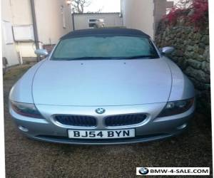 BMW Z4 2.5i Silver for Sale