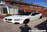 2012 Bmw m3 4.0 v8 white semi auto no swap PX 330d 335d Merc convertible  for Sale