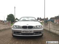 BMW 3 Series 2002 '02' 325 Ci Convertible Auto Tiptronic Cabrio