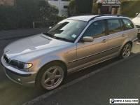 "BMW 325i Manual Touring 2002 Genuine AC Schnitzer Type 2 Split Rims 18"""