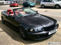 BMW E46 convertible 320ci 2.2 6 cylinder. Red leather seats and Angel eyes