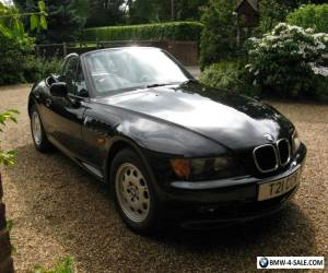 BMW Z3 / 1.9 / BLACK / VERY LOW MILEAGE / SUPERB BODYWORK / MANY EXTRAS for Sale