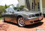 2006 BMW 7-Series Ultimate Luxury Touring Sedan  for Sale